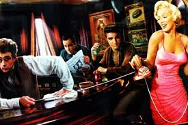 Bar with Elvis Marilyn
